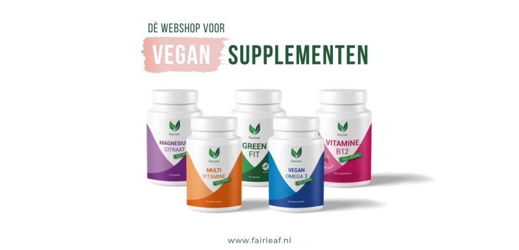 Dè Webshop voor Vegan Supplementen